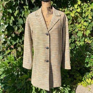 WORTH NEW YORK Autumnal Tweed Jacket, M